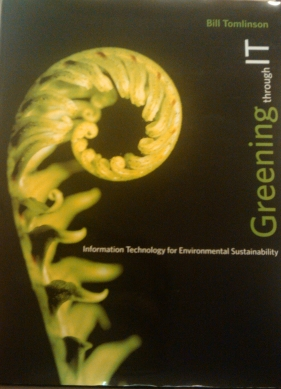 Greening Through IT book cover